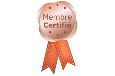 badge du membre certifié